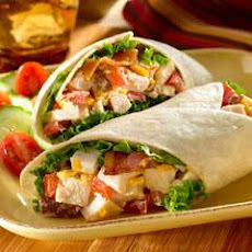Creamy Cheddar Blt Turkey Wraps