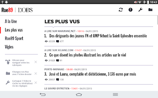 Screenshot of L'Obs - Rue89