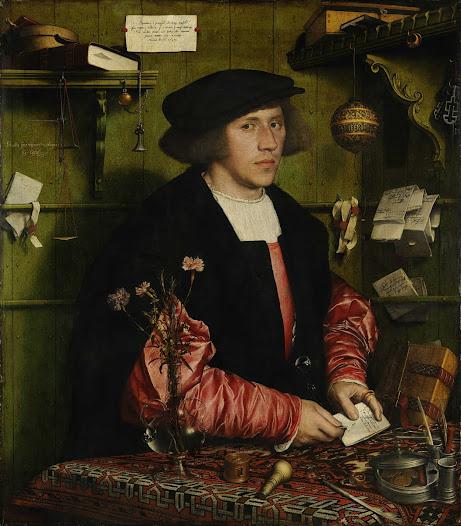 Holbein Hans, Il mercante Georg Gisze