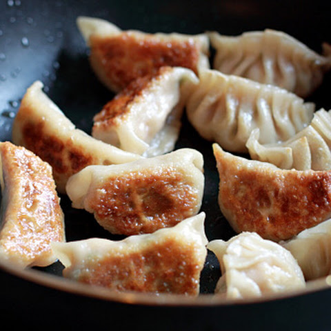 Gyoza Recipe (Japanese Pork and Shrimp Pot Stickers)