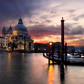 by Richard  Harris - Buildings & Architecture Public & Historical ( venice, santa maria della salute, italy )