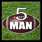 5 Man Flag Football Playbook icon