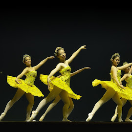 yellow balerina by Hery Sulistianto - News & Events Entertainment (  )
