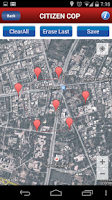 Screenshot of CitizenCOP
