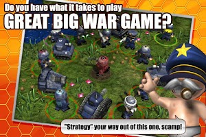Screenshot of Great Big War Game