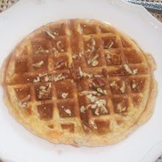 Sweet Potato Pecan Waffles