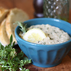 White Bean, Artichoke and Rosemary Dip