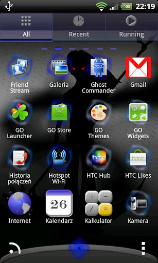 無料个人化AppのWarrior Theme for GO Launcher|HotApp4Game