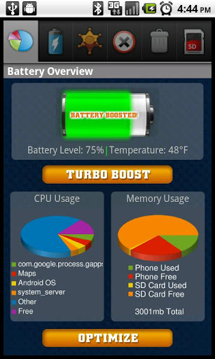 android-battery-doctor-free for android screenshot