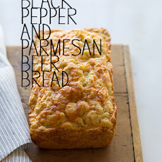 Black Pepper and Parmesan Beer Bread