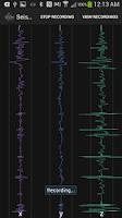 Screenshot of Seismograph