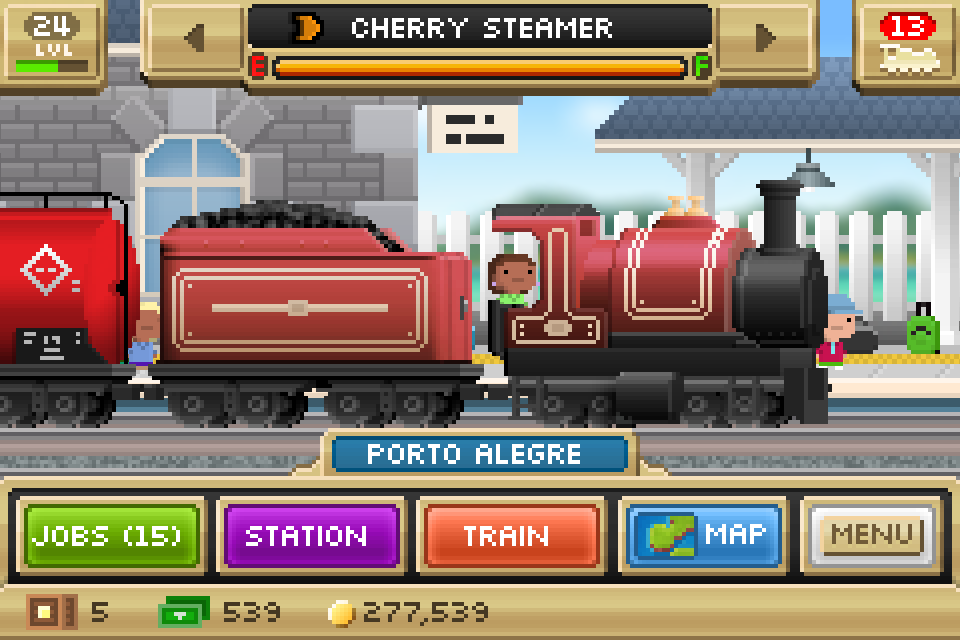 Pocket Trains Screenshot 0