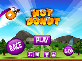 Screenshot of Hot Donut