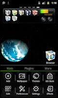 Screenshot of go launcher theme rubik 3d