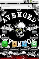 Screenshot of Avenged Sevenfold app