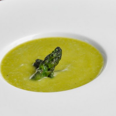 Asparagus, Potato, and Leek Soup