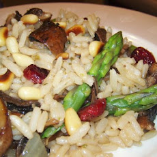 Addicting Wild Rice & Asparagus Salad