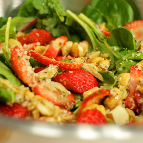 Strawberry Hemp Salad