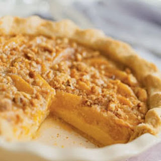 Deep-Dish Peach Custard Pie