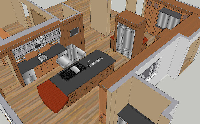 Nordquist Kitchen Sketchup Showcase