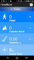 Screenshot of SmartBand