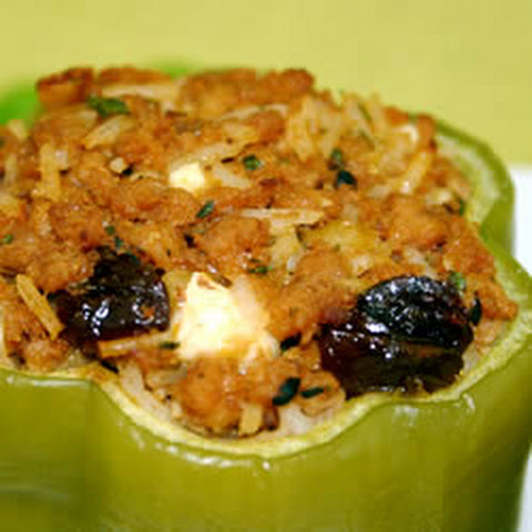 Greek-Style Stuffed Peppers