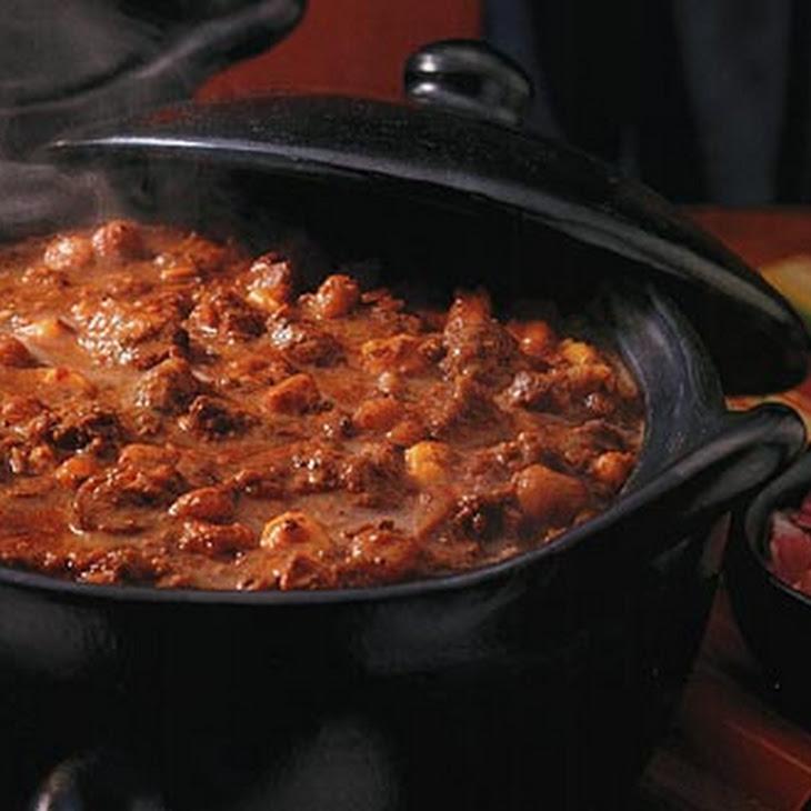 Spicy Lamb and Chorizo Chili