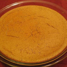 Crustless Sugar-Free Pumpkin Pie Diabetic