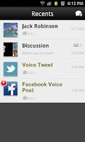 Screenshot of TalkBox Voice Messenger - PTT