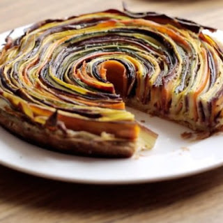 Check Out This Video Of A Spiral Vegetable Tart, Then Try The