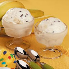 Chunky Banana Chip Ice Cream