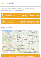 Screenshot of Express Rent a Car