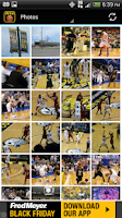 Screenshot of Wichita State Basketball