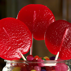 Cherry Lollipops