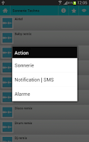 Screenshot of SMS Ringtones
