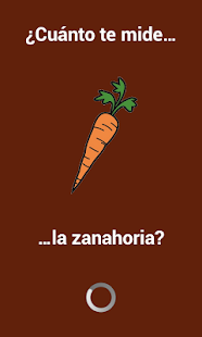 How big is your carrot? - screenshot