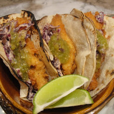 Cook the Book: Catfish Tacos with Chipotle Slaw