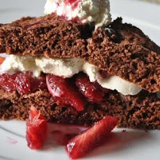 One-Bowl Chocolate Strawberry Cake
