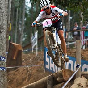 Jolanda Neff by Simon Joubert - Sports & Fitness Cycling ( mountain biking, world cup, jolabda neff, under 23, cascades, pietermaritzburg, cross country, simon joubert,  )
