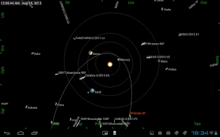 Screenshot of Mobile Observatory - Astronomy