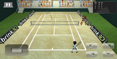 Screenshot of Brink 3D Tennis Cup