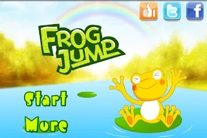 Screenshot of Frog Jump in Maze