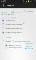 Screenshot of Rechtsanwaltsgebühren.de-Free