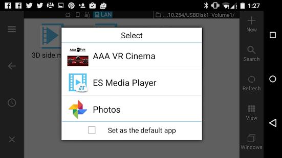 App aaa vr cinema cardboard 3d sbs apk for windows phone android