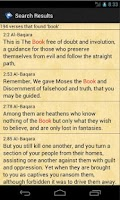 Screenshot of Quran Translations