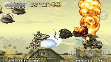 Screenshot of METAL SLUG X