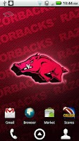 Screenshot of Arkansas Razorbacks Wallpaper