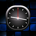 Blue Bold Analog Clock icon
