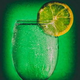 Refreshingly Lime by Fahad Iqbal - Food & Drink Alcohol & Drinks ( 7-up, creative, drink, glass, artistic, lime, soda, lemon,  )