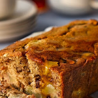 Pear And Maple Syrup Banana Bread